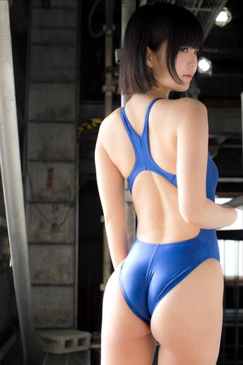 【水着エロ画像】すくーる水着競泳水着のエロ画像w